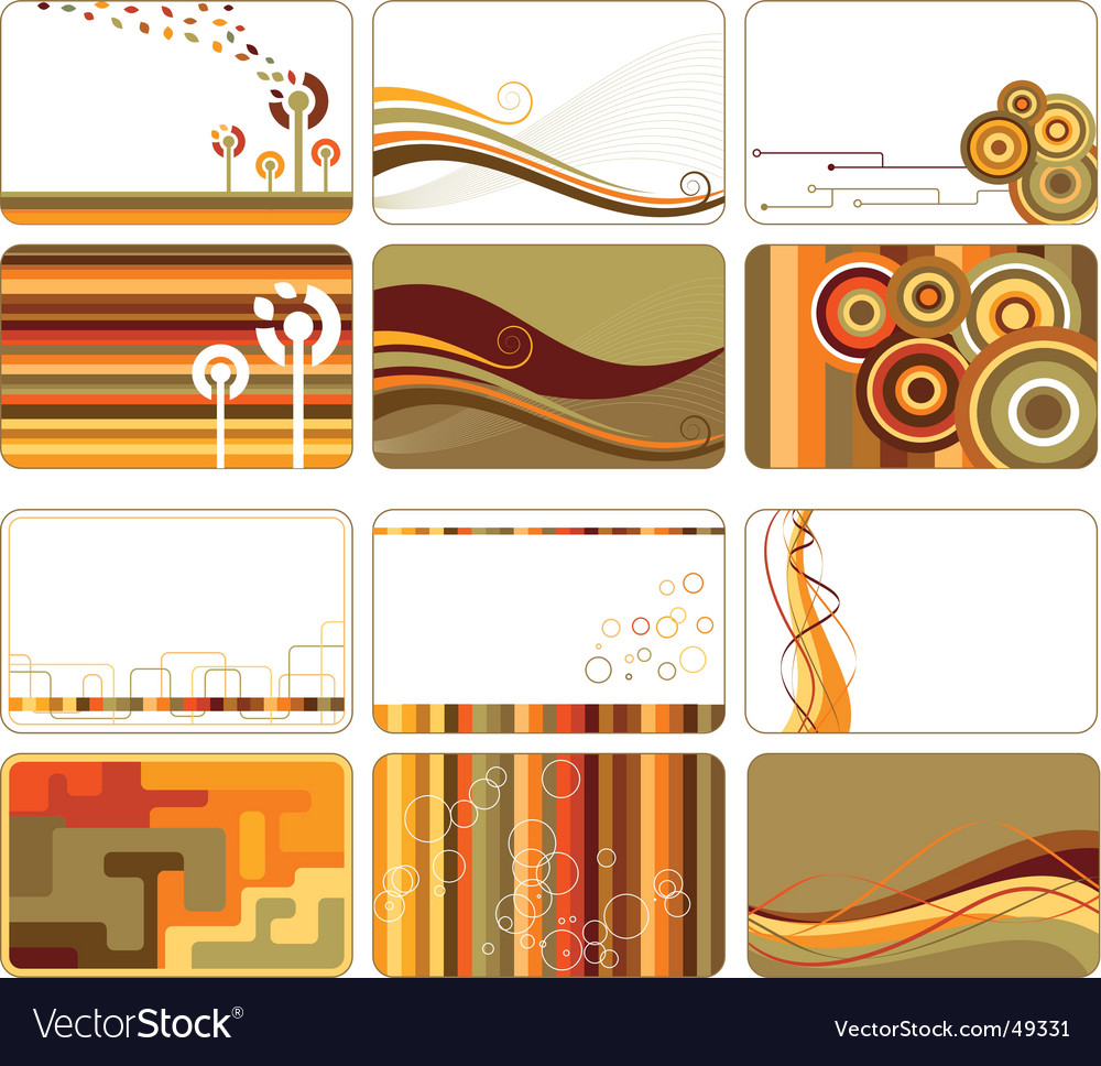 Creative backgrounds vector image