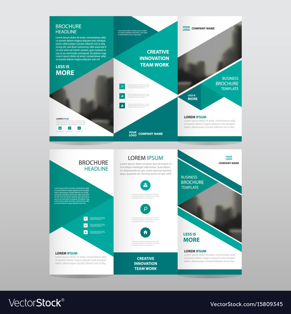 Graphic Design Tri Fold Brochure Price