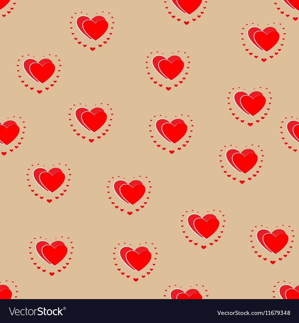 Flower seamless pattern 2 vector image