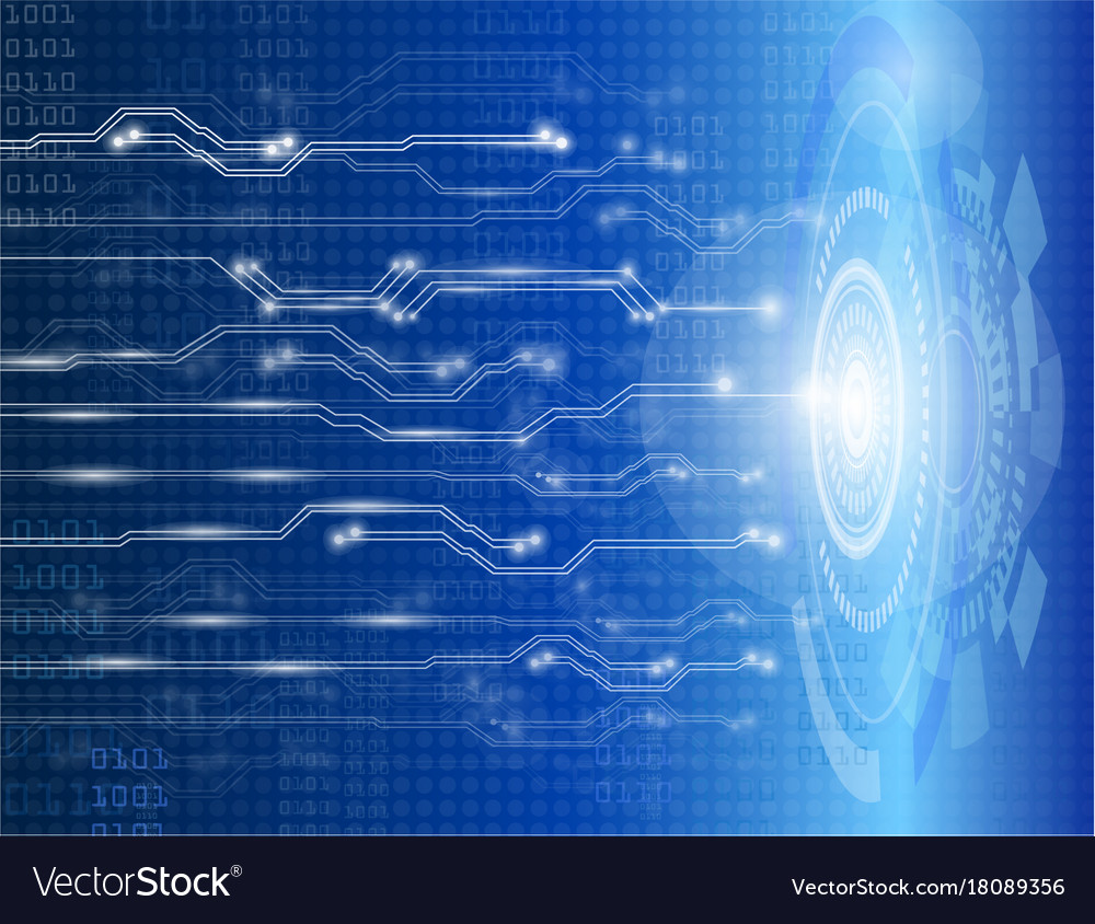 Abstract background technology science vector image