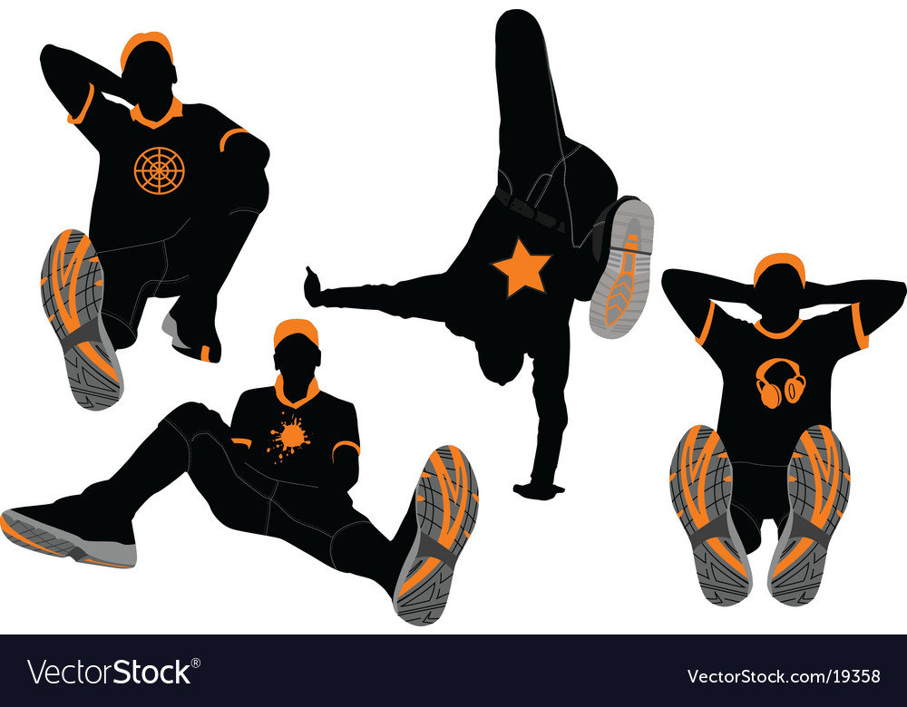 Dancer88 design vector image
