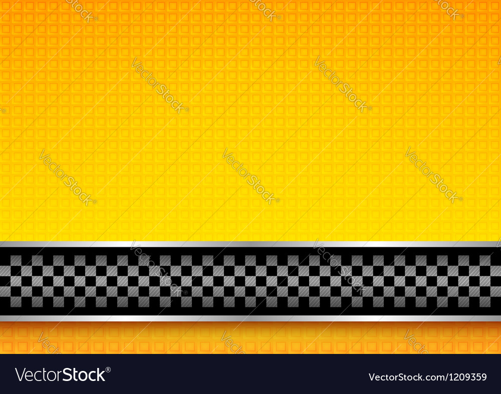 Racing template vector image