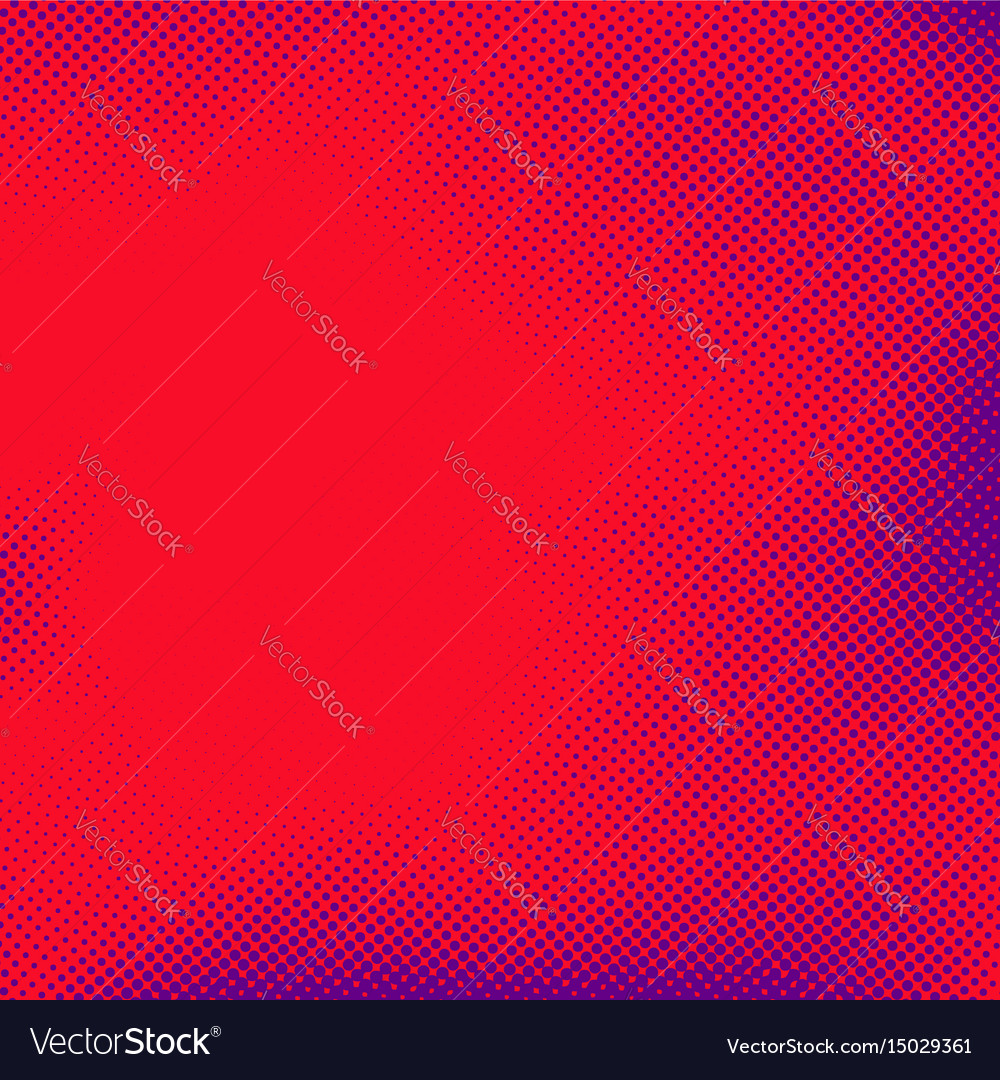 Comic book style pop art abstract page template vector image
