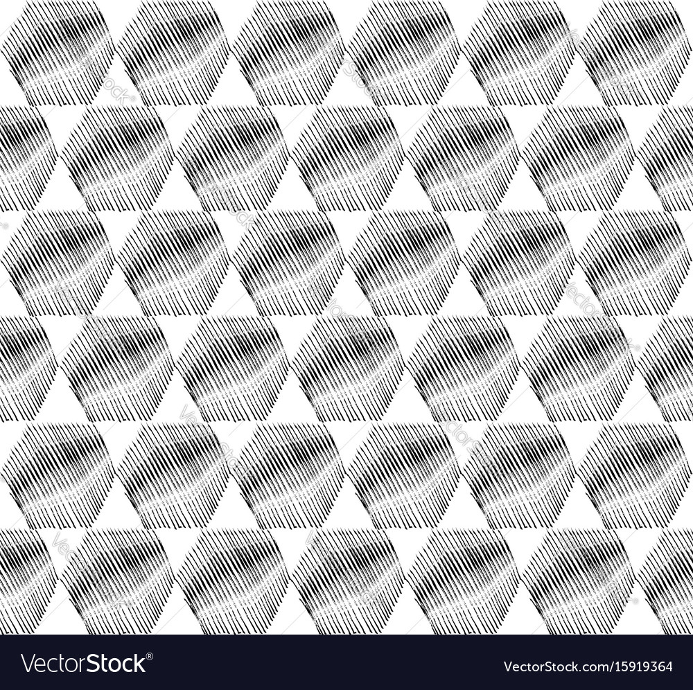 Abstract oriental pattern doodle arabic geometric vector image