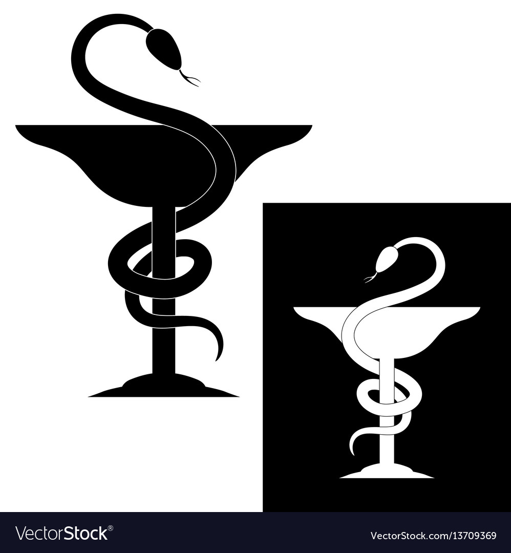 Pharmacy symbol vector images over 24000 pharmacy symbol medical snake and cup vector buycottarizona