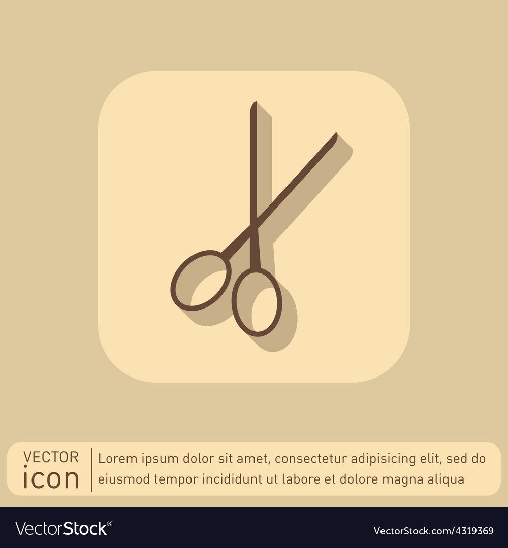 Scissors barbershop symbol of hair and beauty vector image scissors barbershop symbol of hair and beauty vector image biocorpaavc