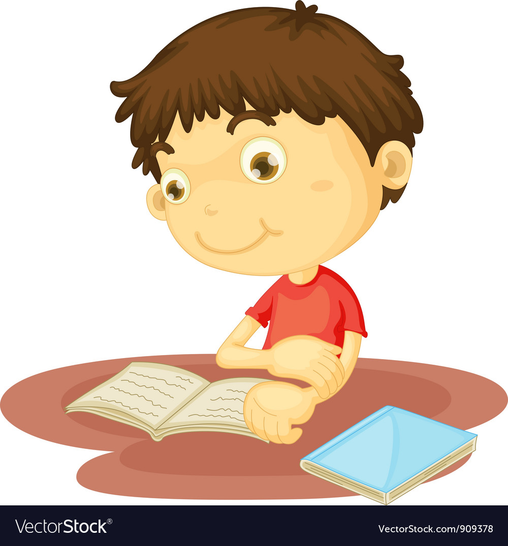 Study time vector image