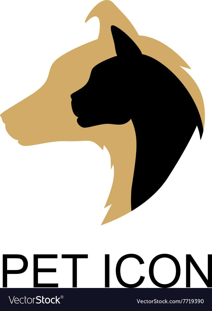Pet icon color vector image