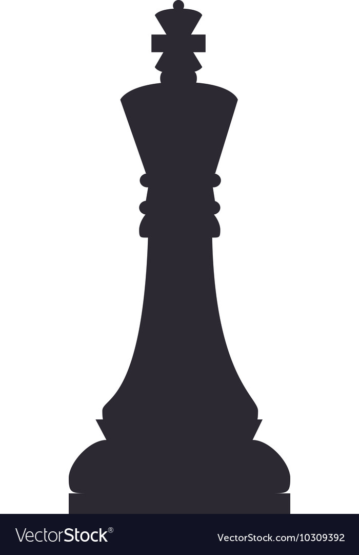 Chess Piece King Vector