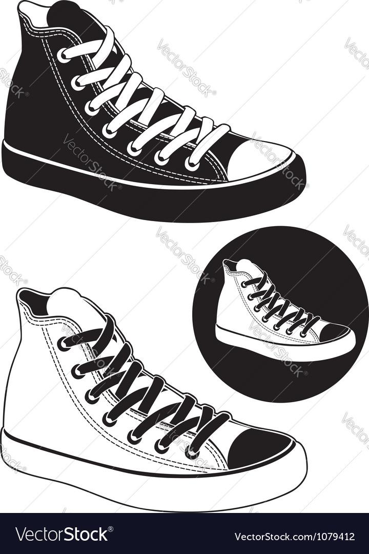 Gumshoes Vector Image