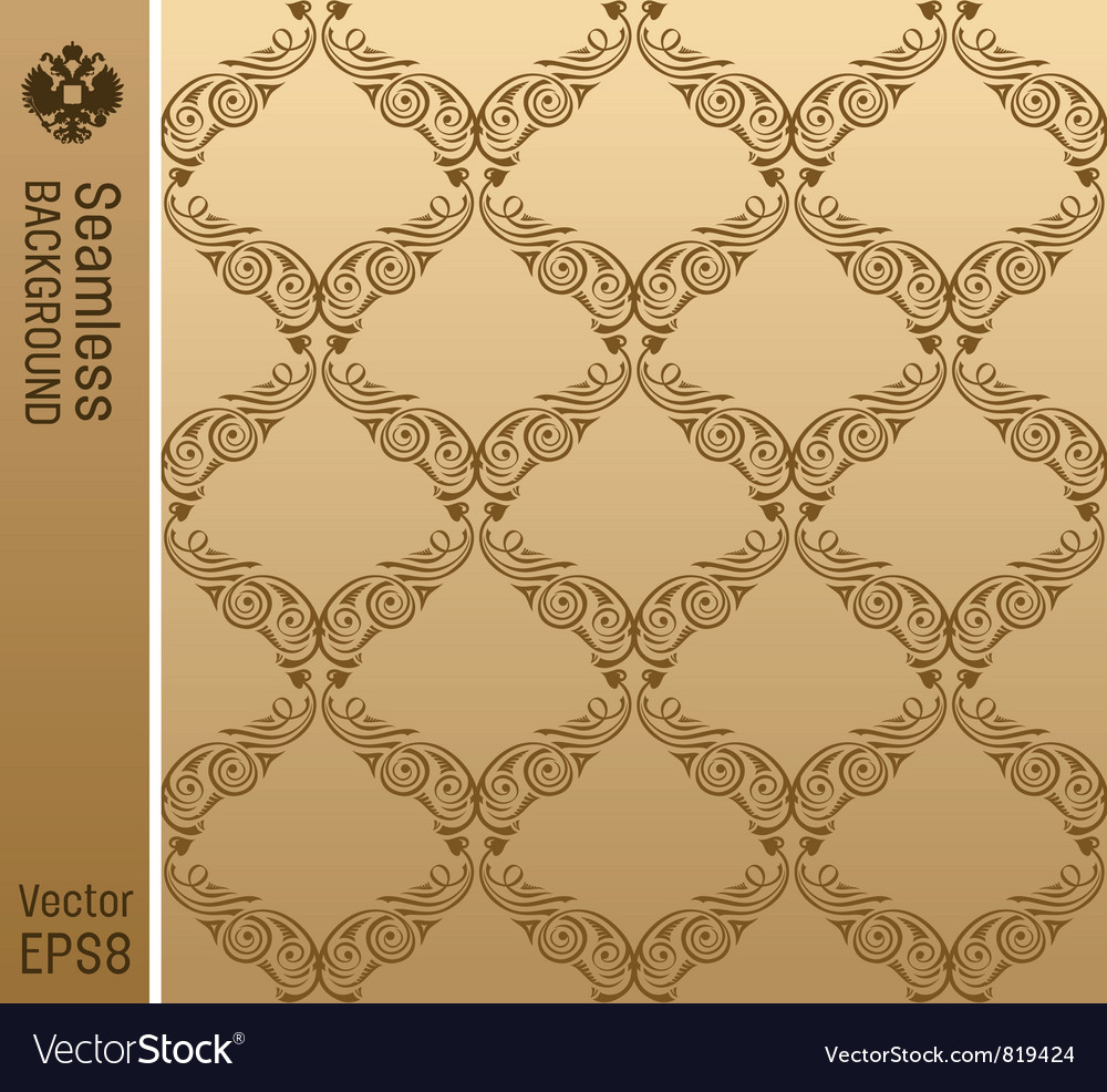 Old antique vintage backgrounds vector image