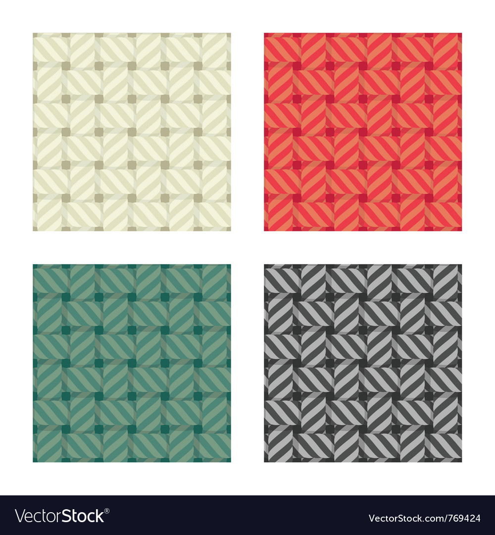 Textile seamless pattern vector image