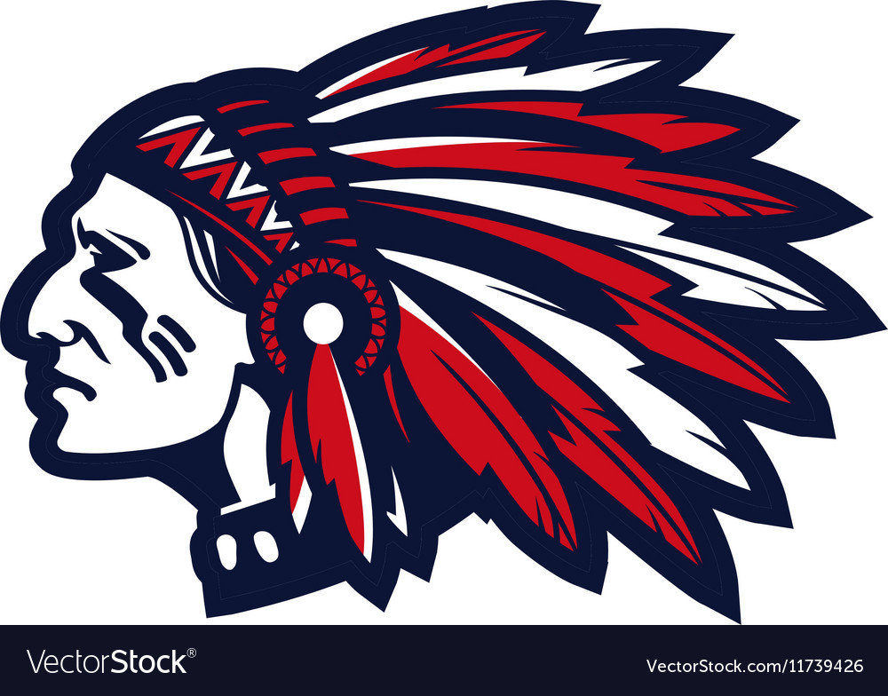 american indian chief logo or icon royalty free vector image Indian Chief Motorcycle Logo Indian Chief Motorcycle Logo