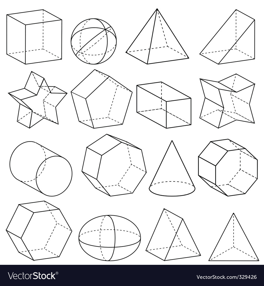 Geometry vector image