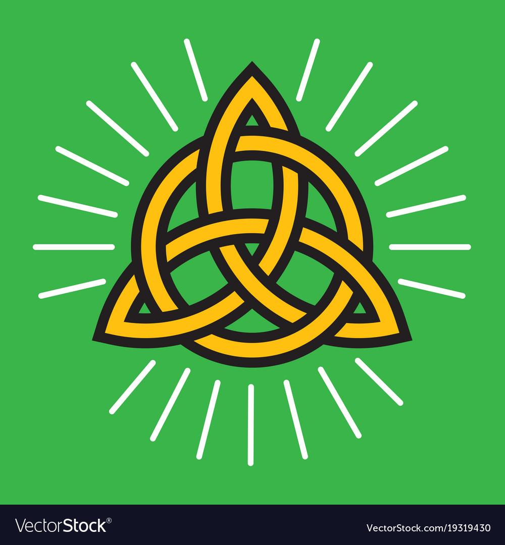 Celtic knot eternity symbol royalty free vector image celtic knot eternity symbol vector image buycottarizona Image collections