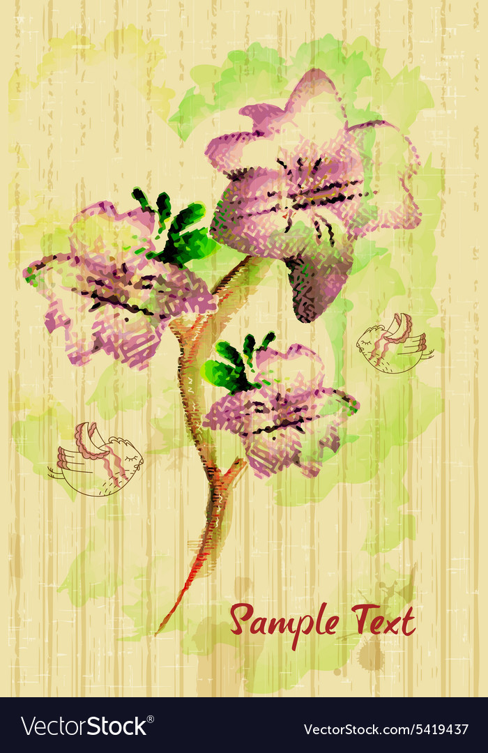 Gorgeous seamless floral background Floral