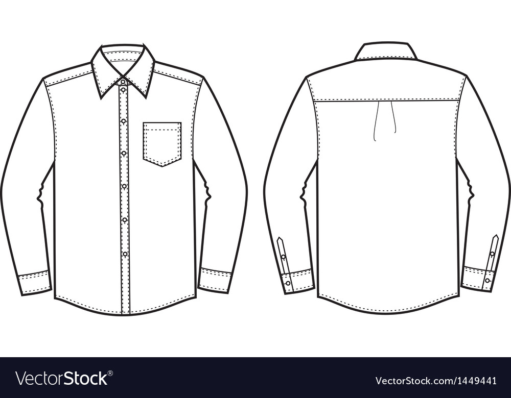 Shirt vector image