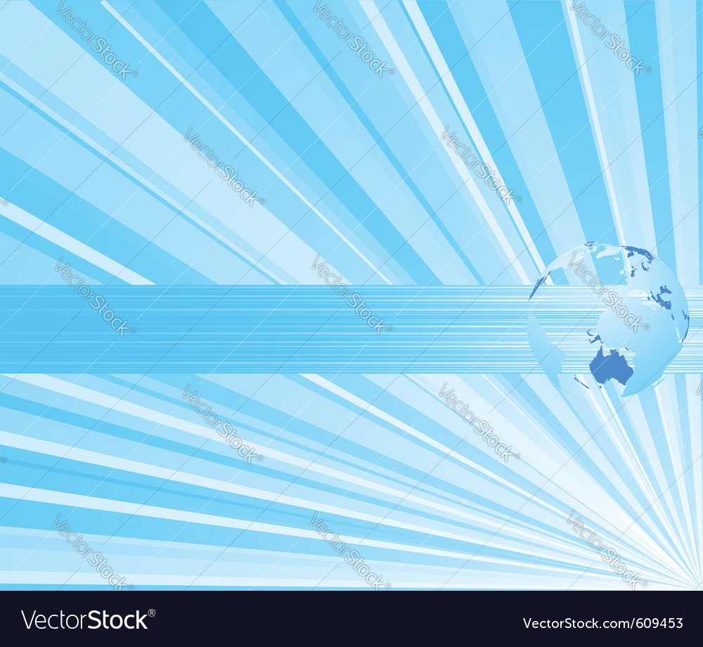 Ray business concept Vector Image