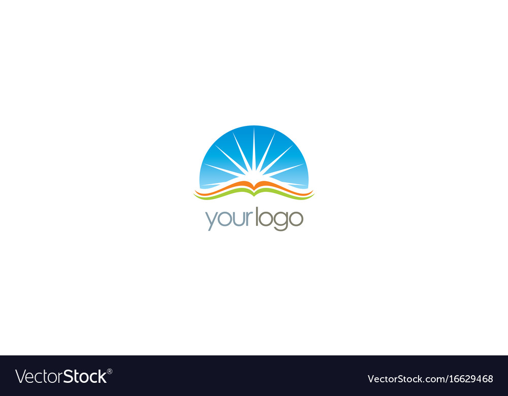 Book Cover Design Logo : List of synonyms and antonyms the word open book logo