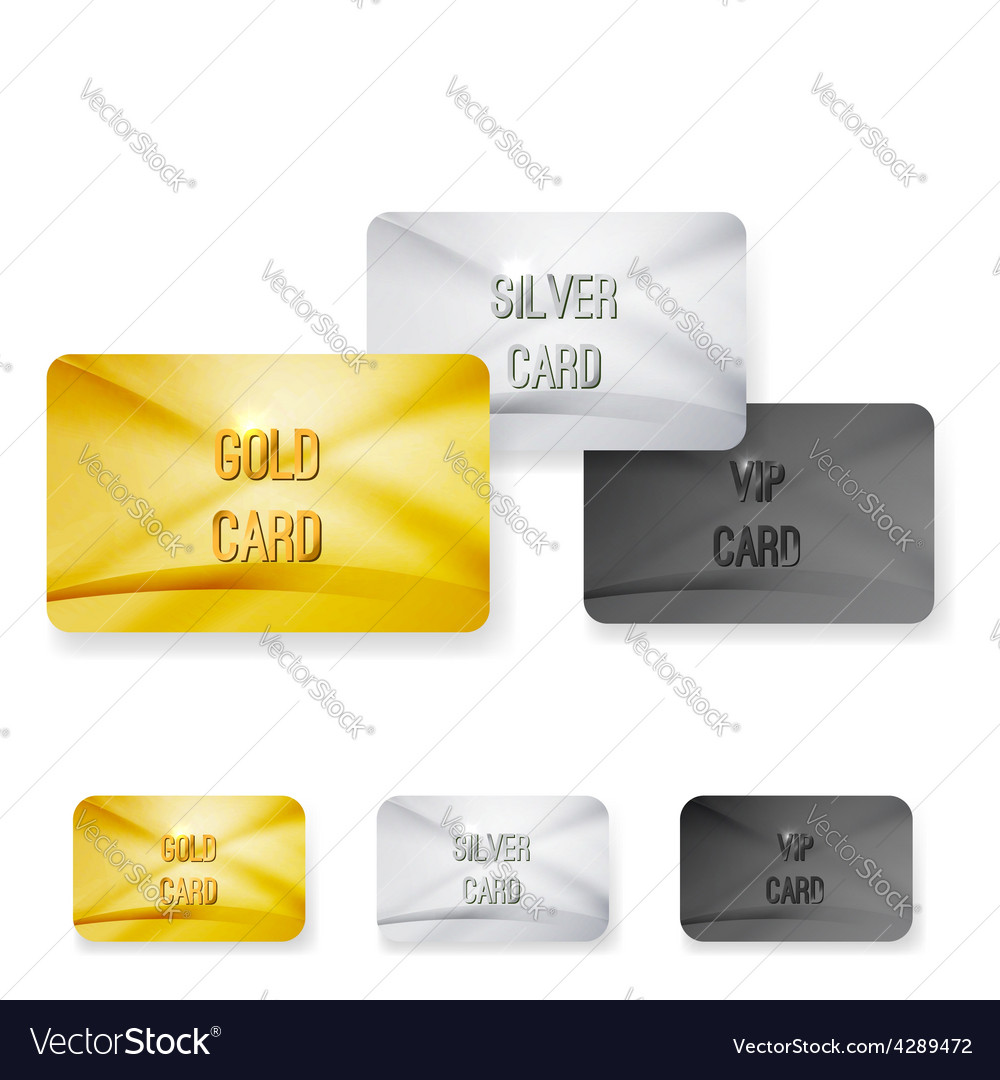 Premium Club Member Vip Status Card Templates Vector Image  Club Membership Card Template