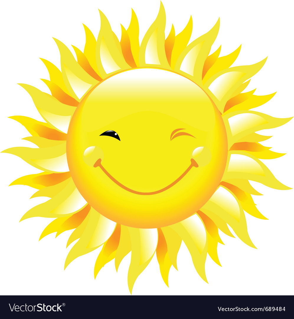 Smiling sun images - Smiling Sun Vector Image