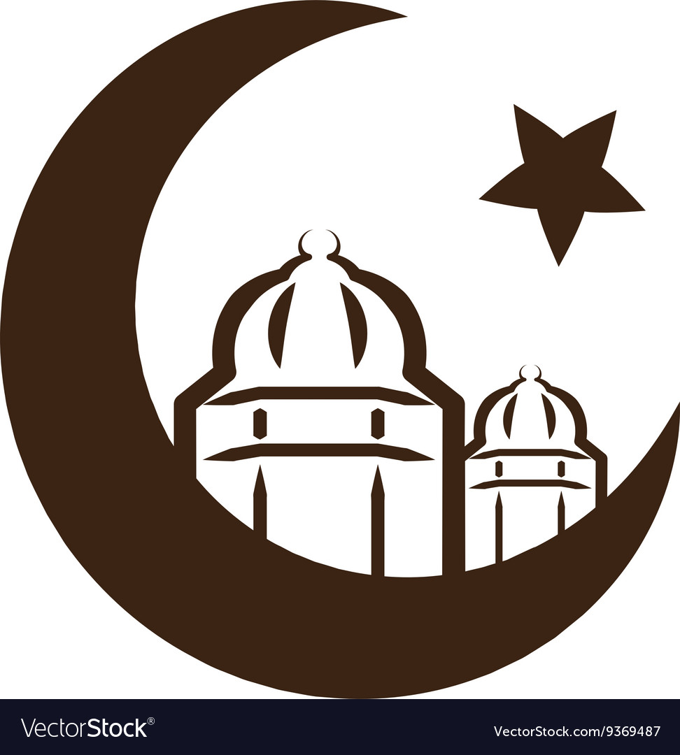Star and crescent symbol of islam royalty free vector star and crescent symbol of islam vector image buycottarizona Gallery