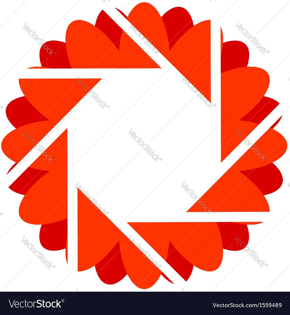 Photography logo vector image