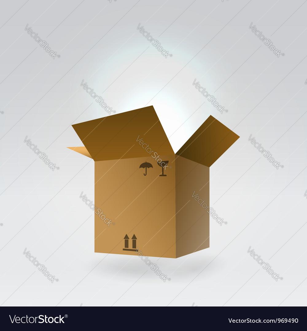Dropbox icon vector image