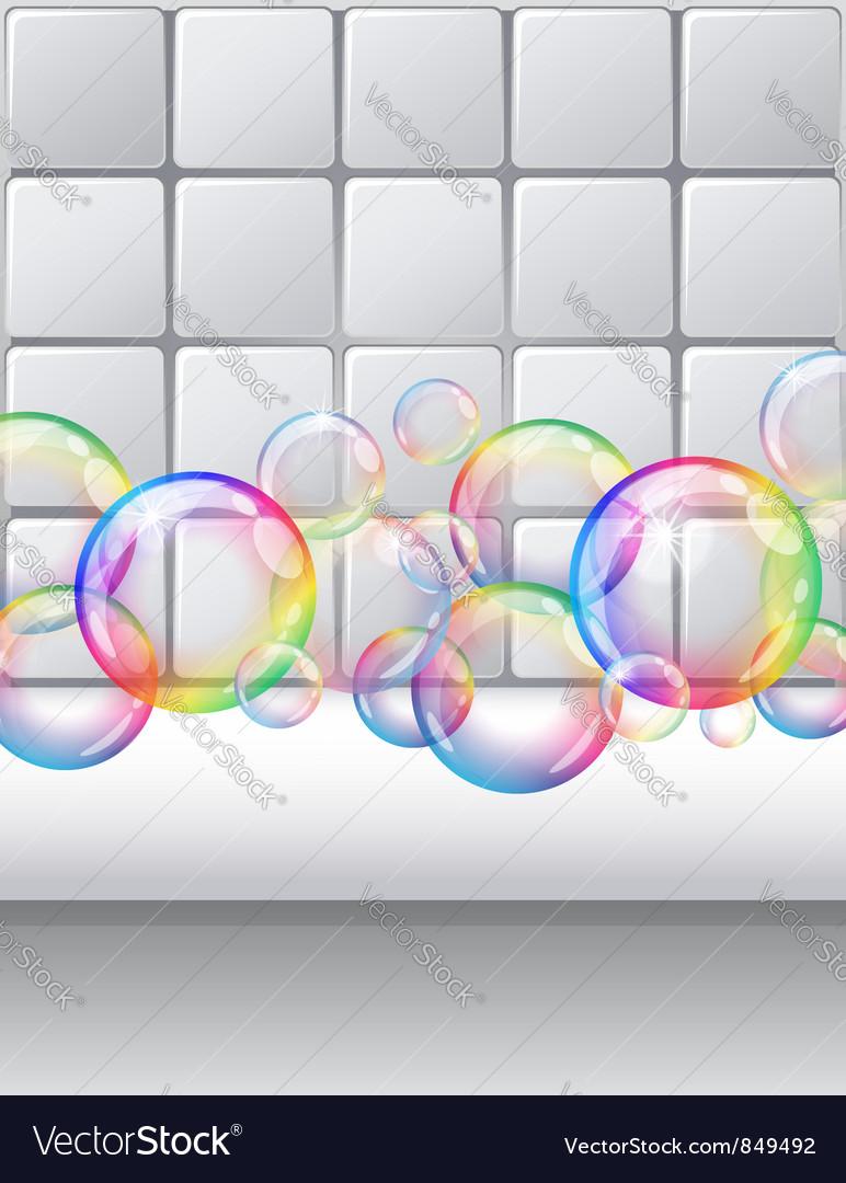 Bubble4 vector image