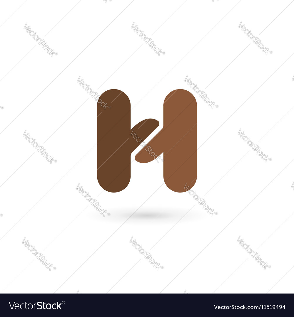 Letter h coffee logo icon design template elements letter h coffee logo icon design template elements vector image pronofoot35fo Gallery