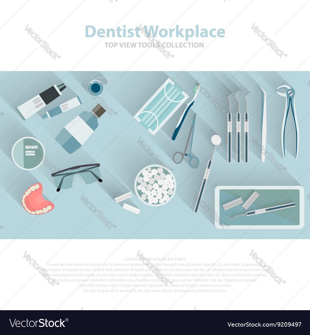 Dental care equipment symbols teeth dentistry vector image dental care equipment symbols teeth dentistry vector image biocorpaavc Choice Image
