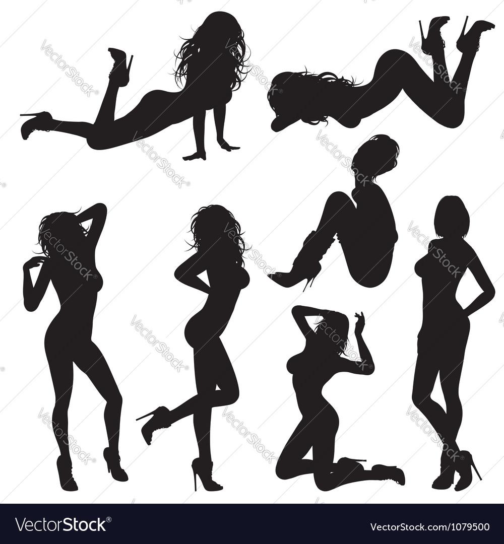 Sexy Girl vector image