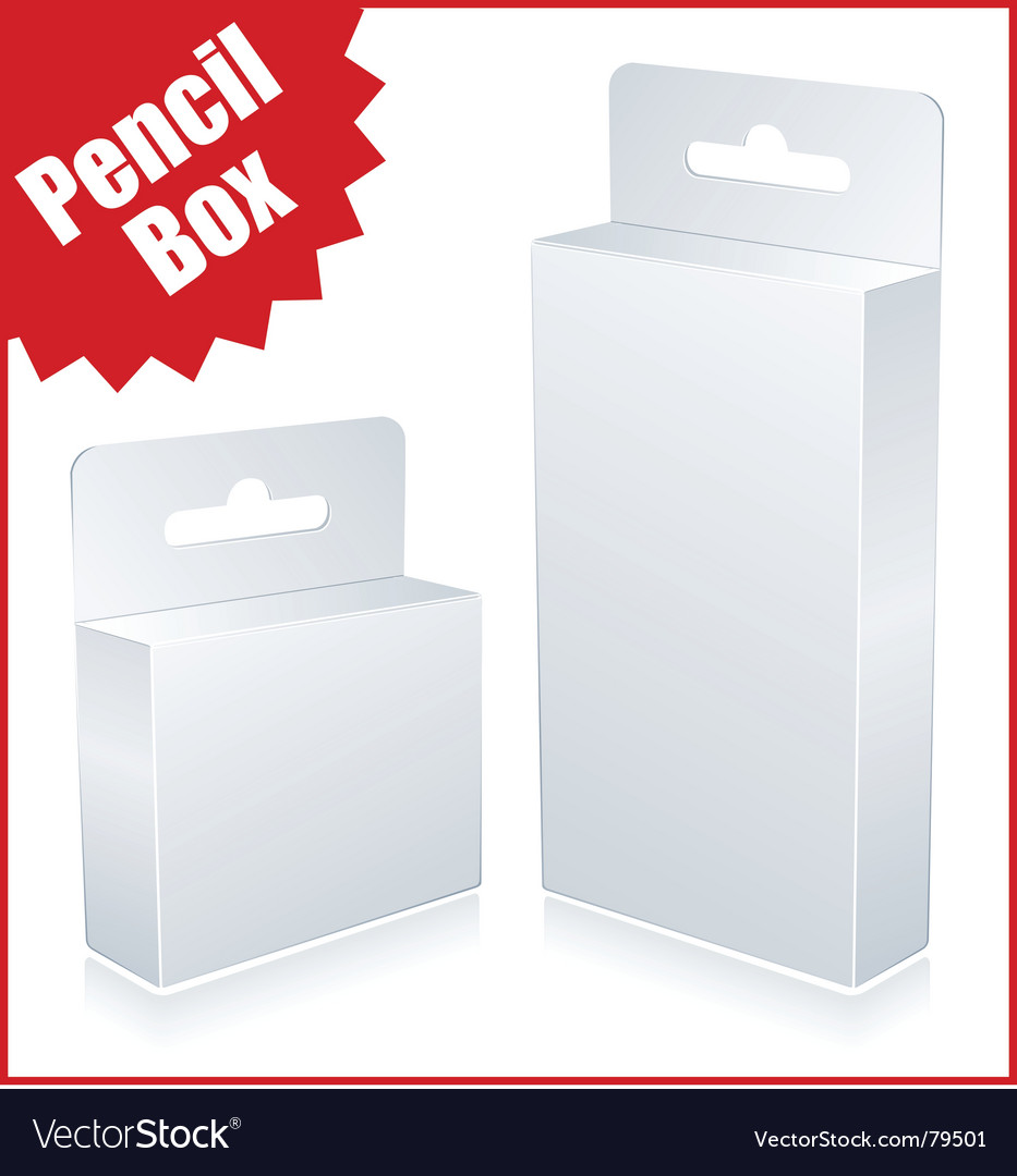 Original package vector image