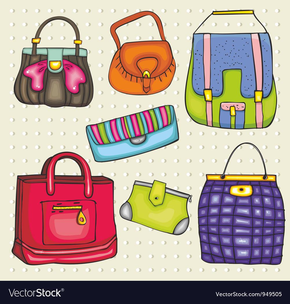 Bag vector image