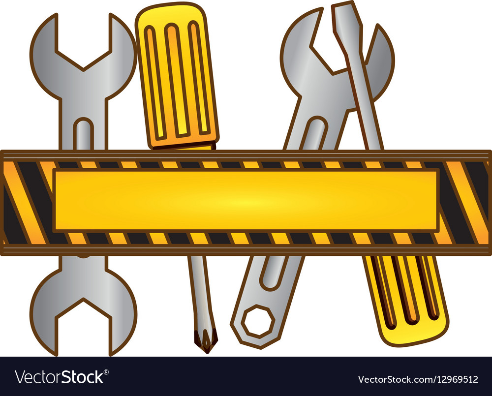 Tools technical service icon vector image