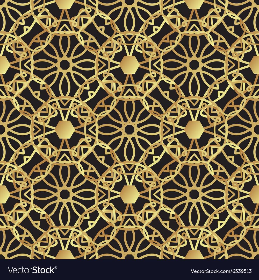 Vintage luxury gold background art deco royalty free vector vintage luxury gold background art deco vector image voltagebd Images