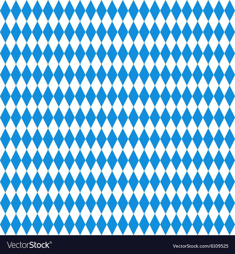 Oktoberfest checkered background vector image