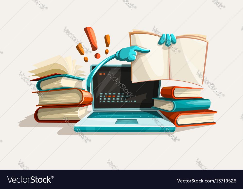 Modern computer technologies vector image