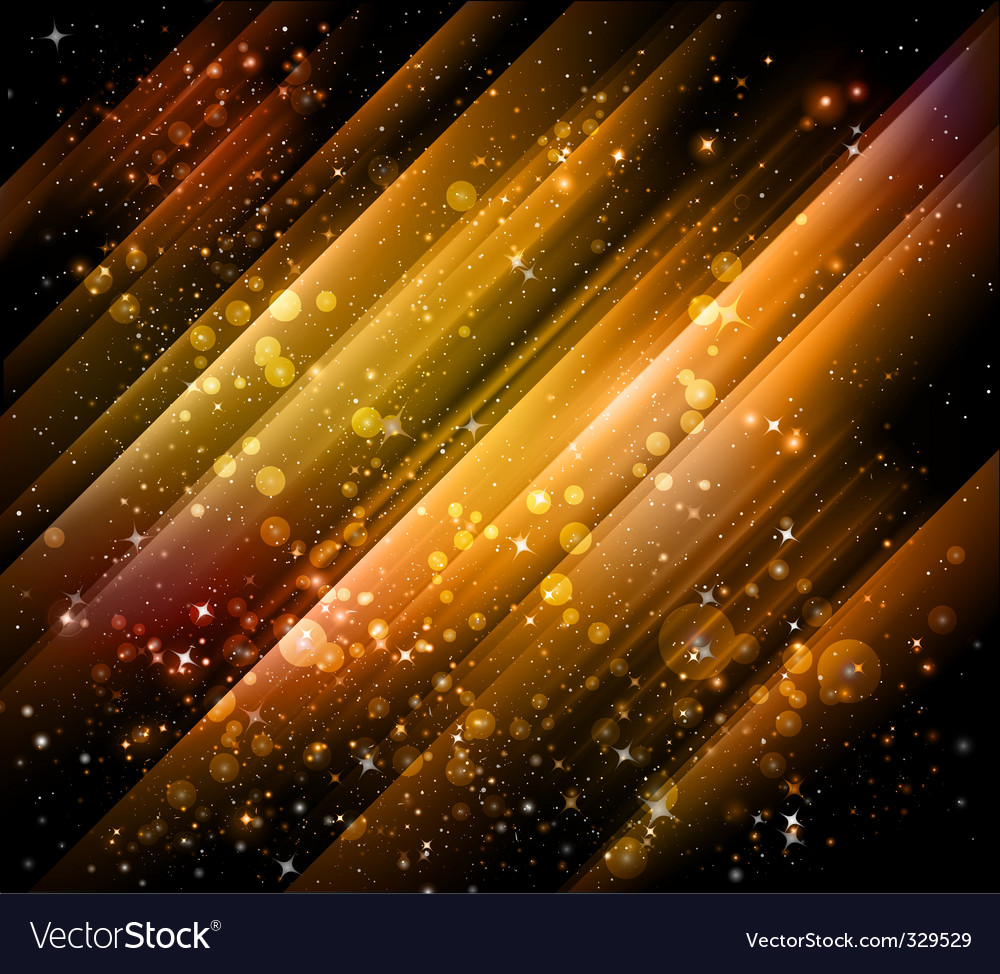 Shiny golden backgrounds vector image