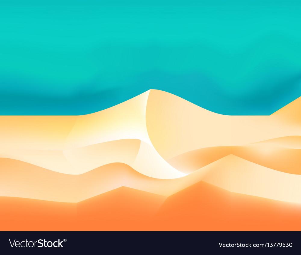 empty sky desert dunes egyptian landscape