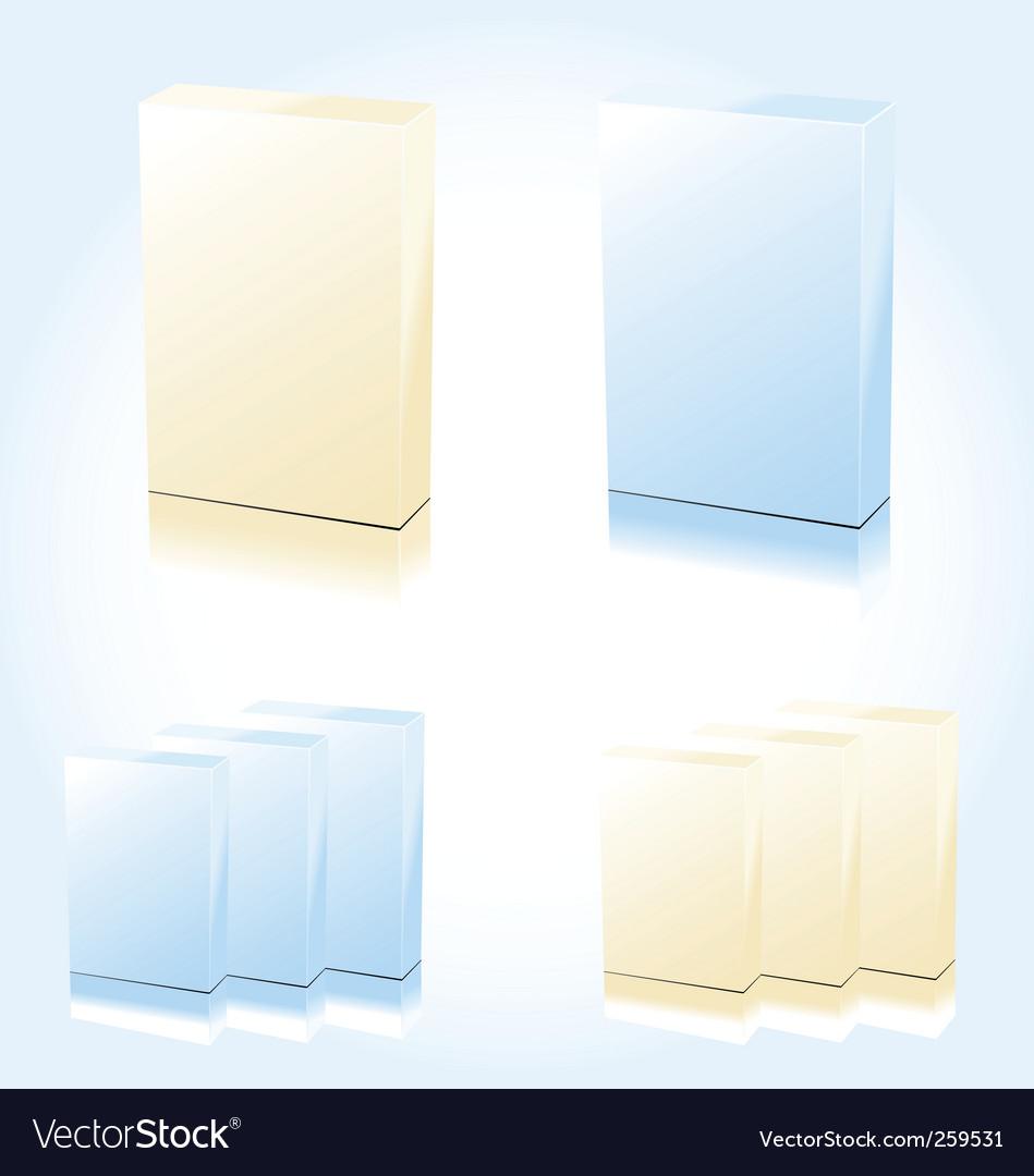 Sample box vector image