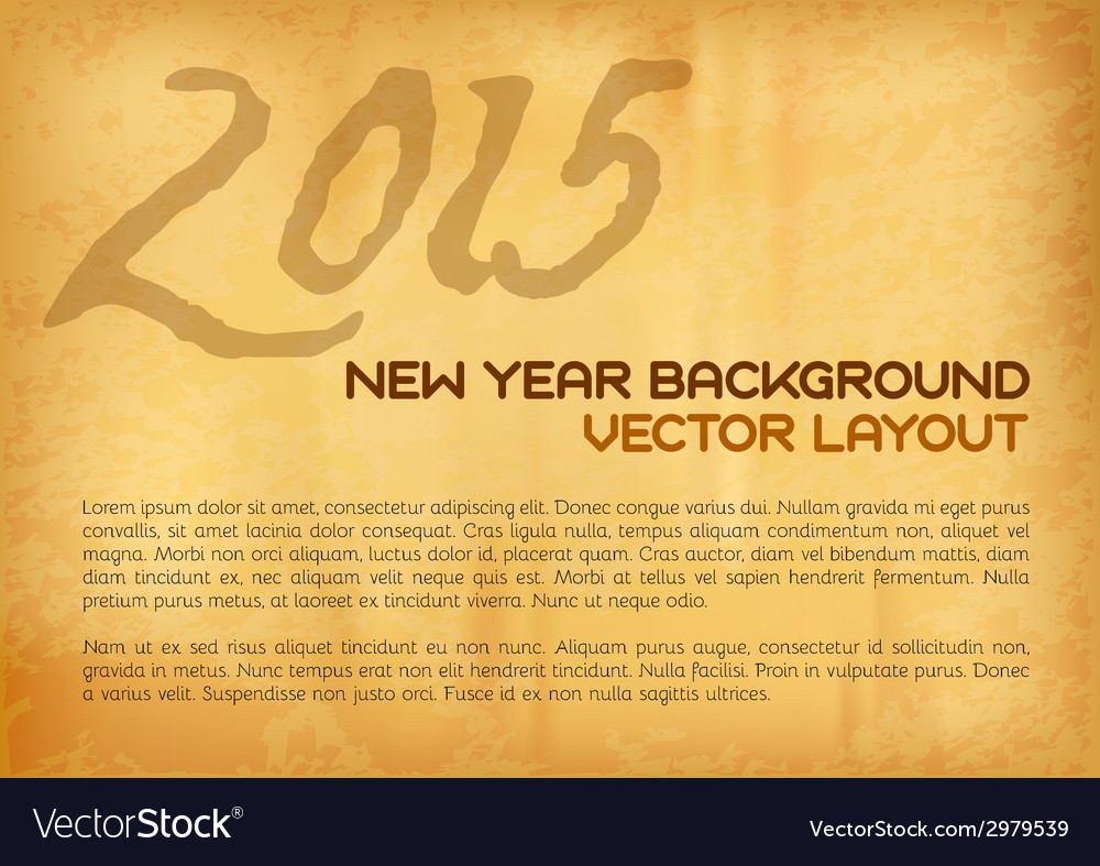 2015 old background vector image