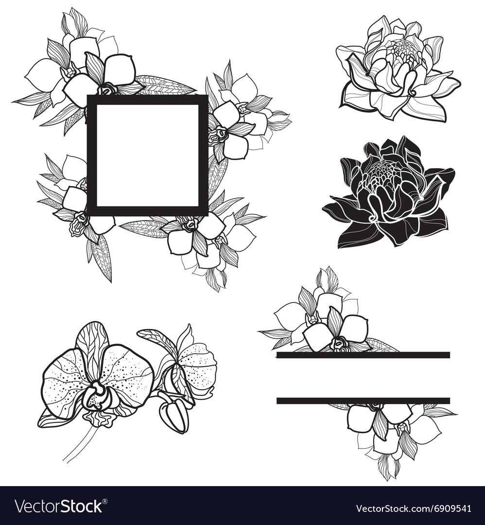 Frame set2 001 vector image