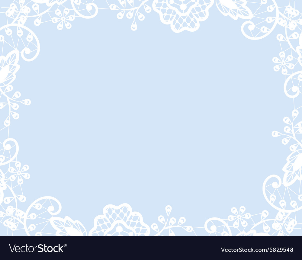 Wedding template vector image