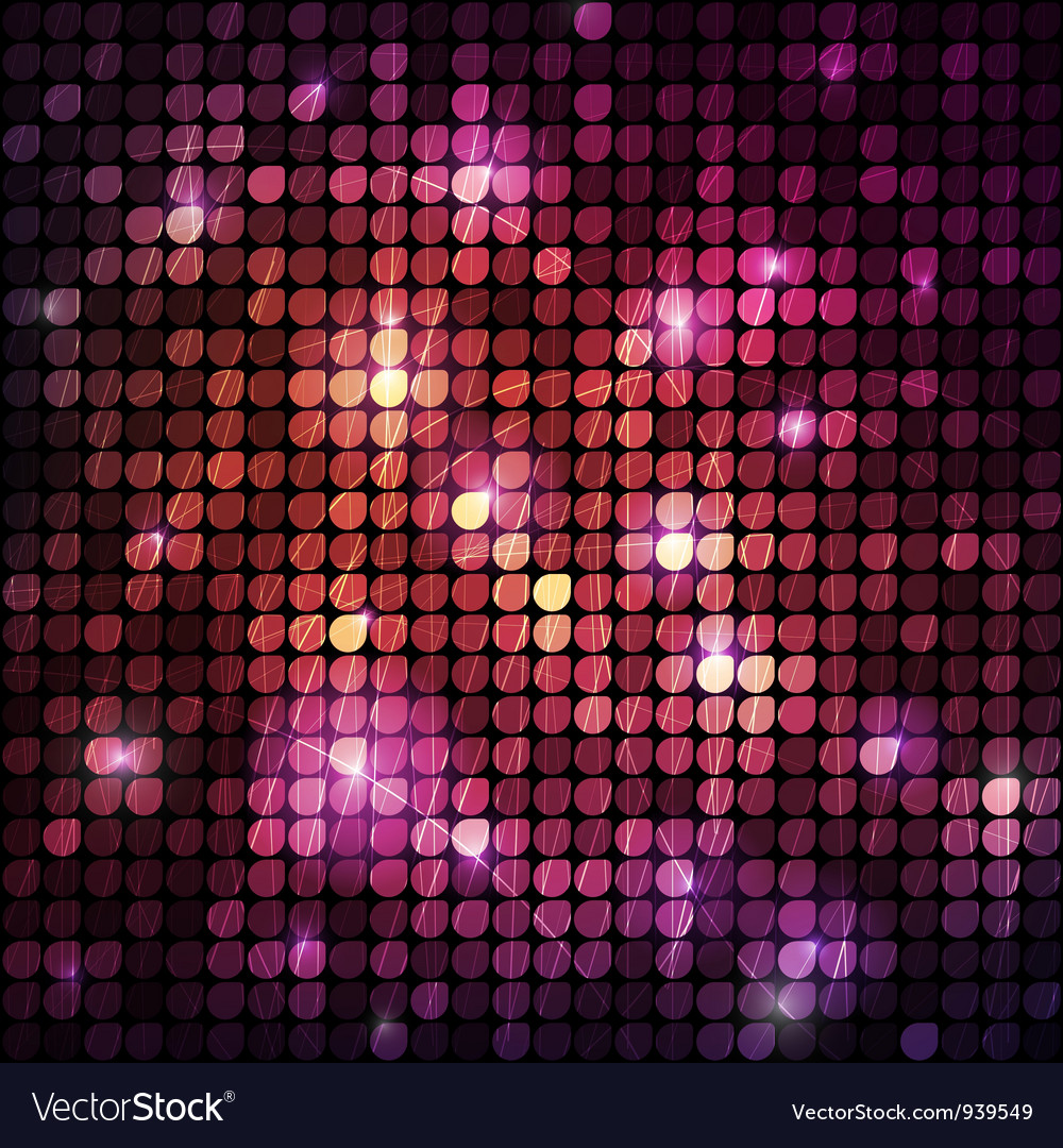 Circular halftone background vector image