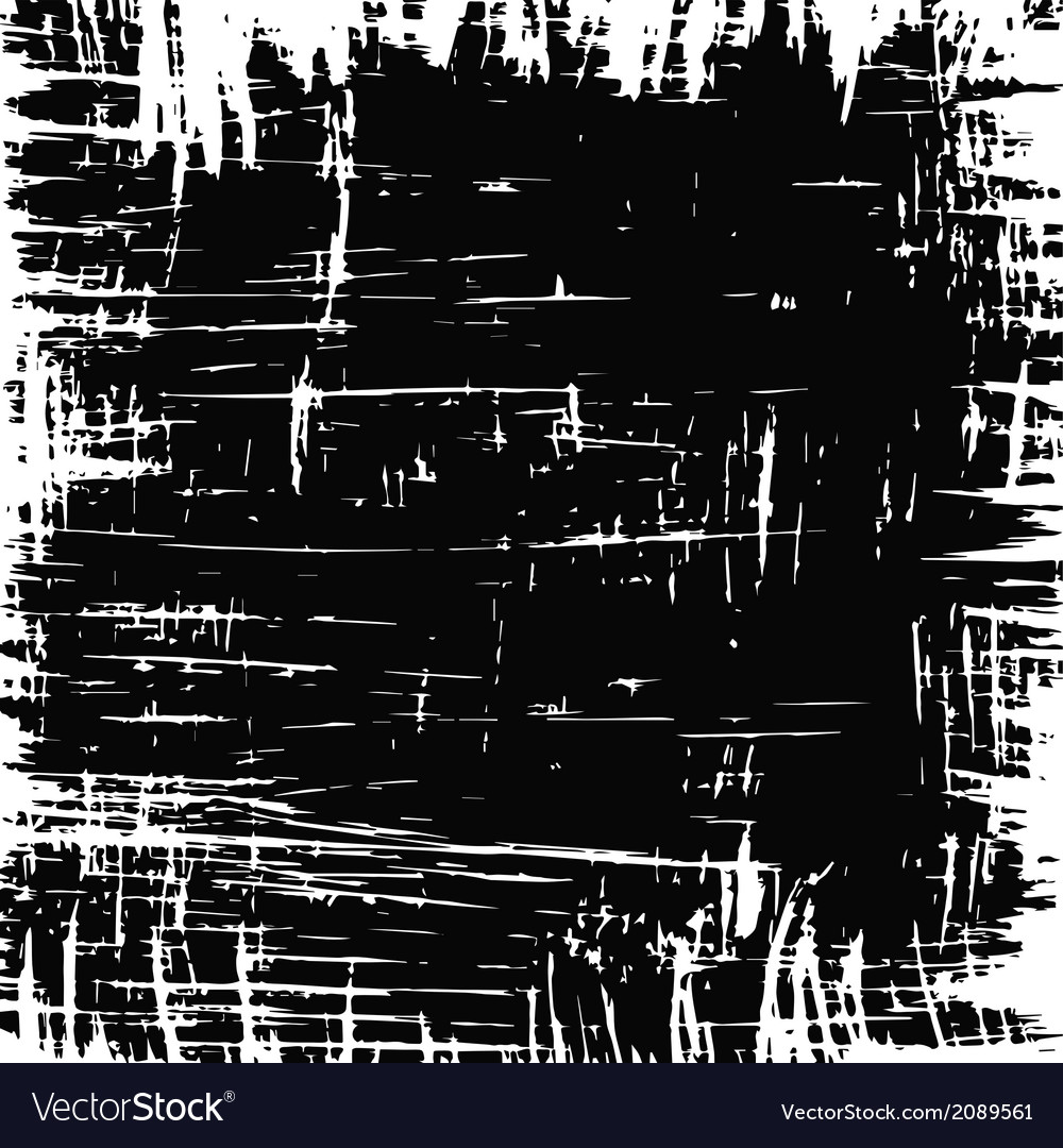 Scratched background vector image