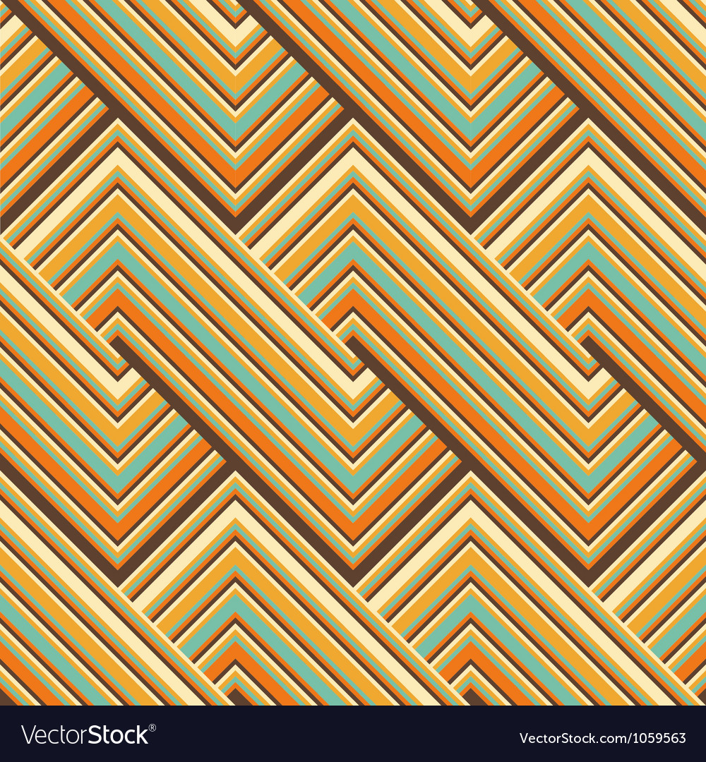Colored lines pattern Vector Image