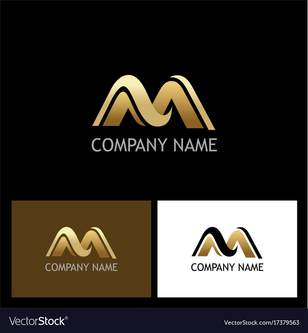 letter m logo royalty free stock photos image 22214578 gold letter m company logo royalty free vector image 623
