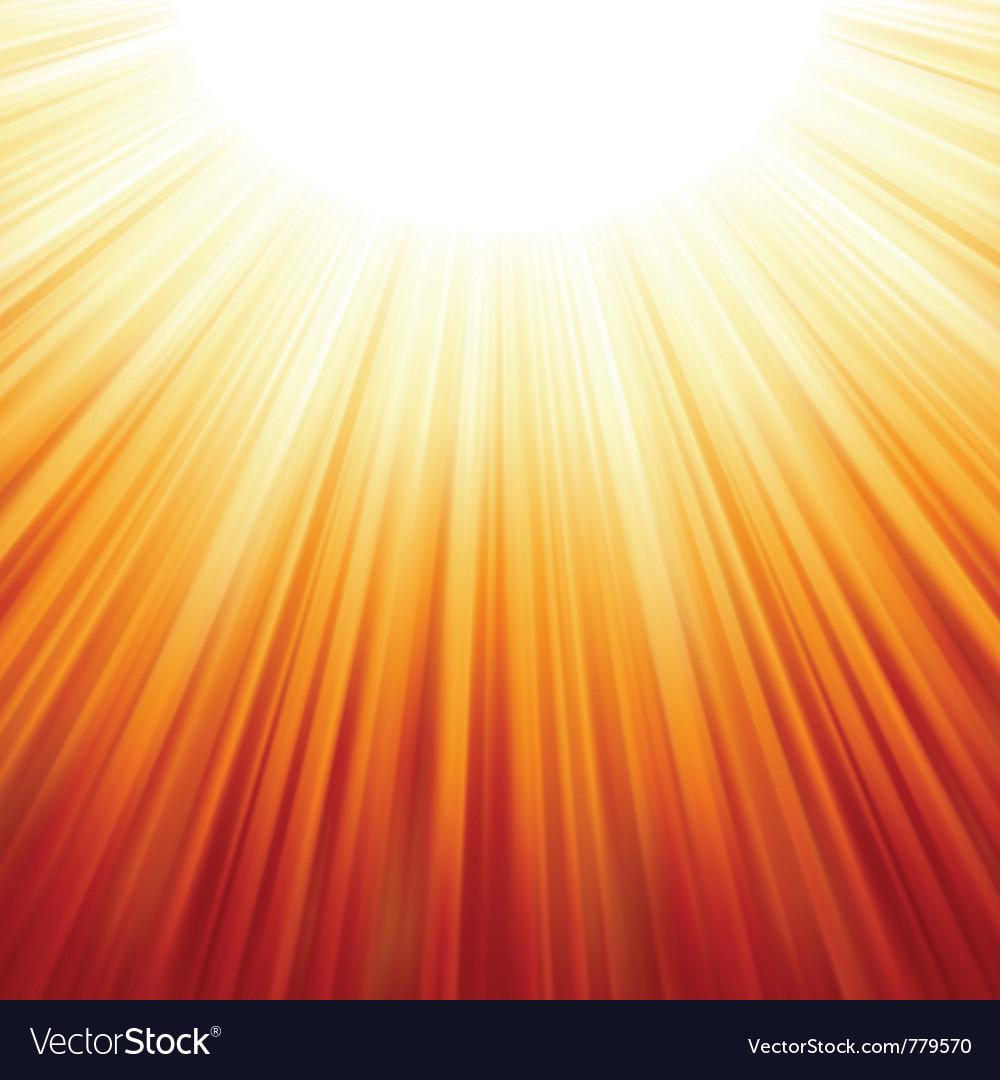 Star burst red vector image