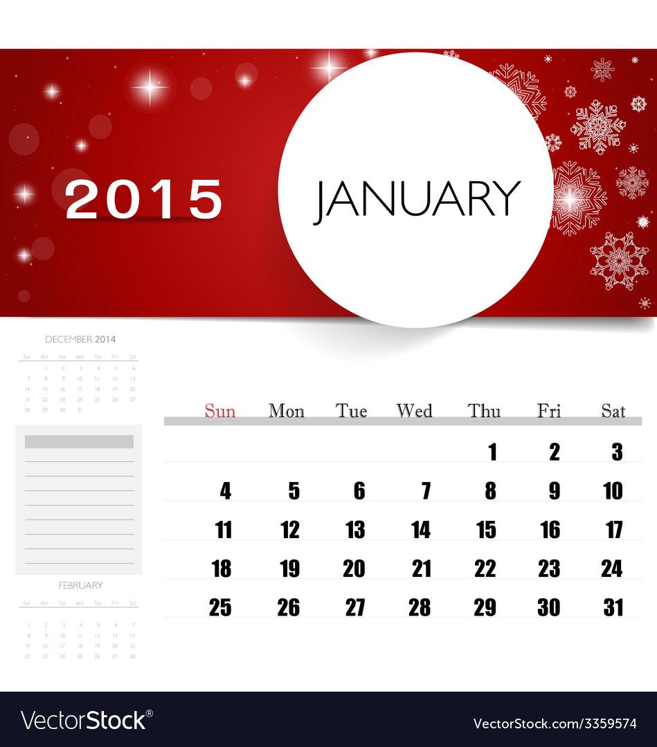 calendars monthly 2015